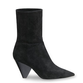 ASH Doll Mid Calf Suede Women's Boots - Black