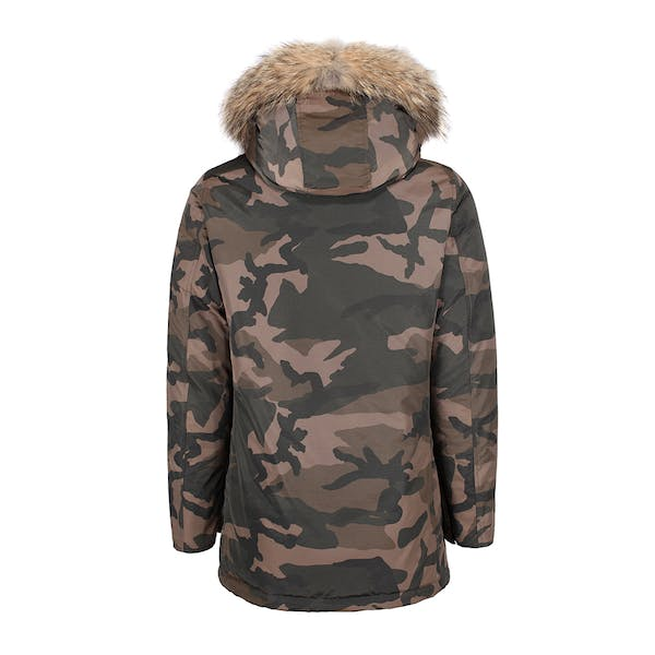 Woolrich Camou Arctic Parka Jacke