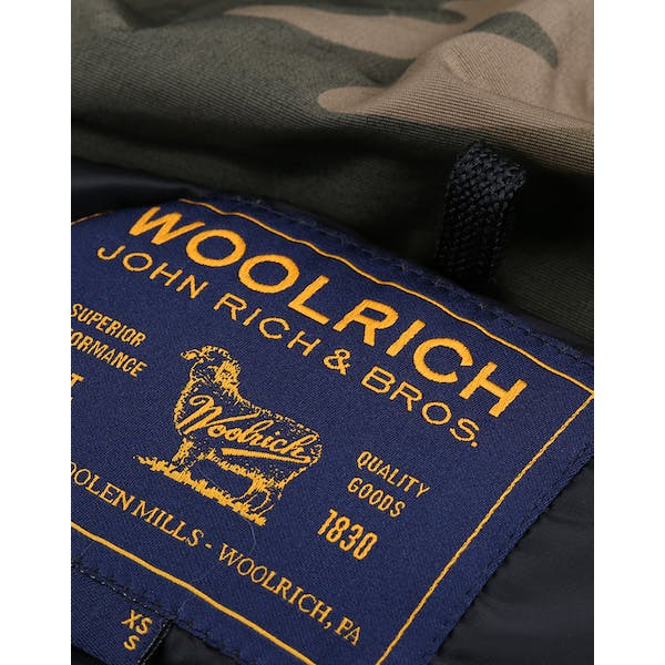 Woolrich Camou Arctic Parka Jas