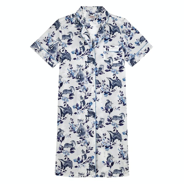 Cath Kidston Badgers and Friends Nightshirt Women's Nightwear