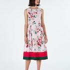 Cath Kidston Paintbox Flowers Cotton Sateen Dress