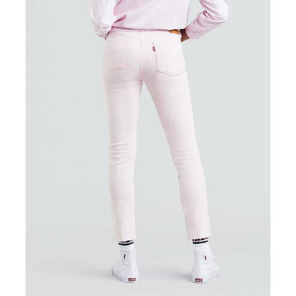 Levis 501 Skinny Kvinner Jeans