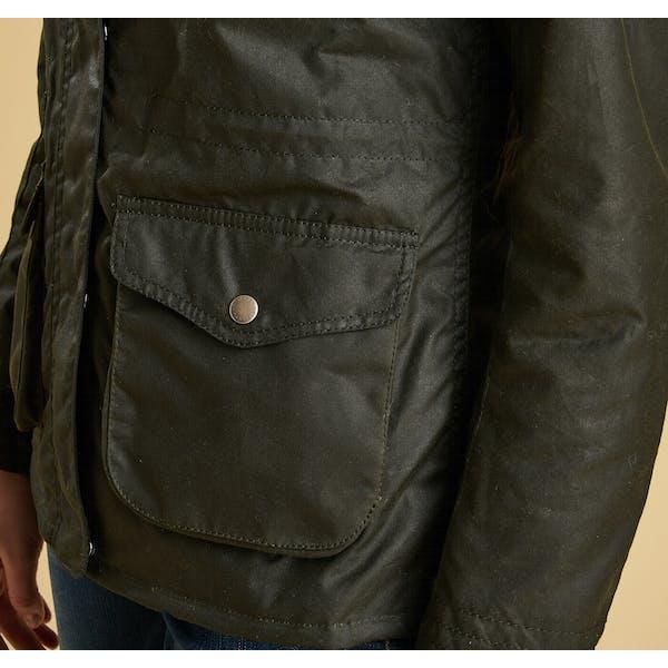 Barbour Rhossili Kvinner Wax Jacket
