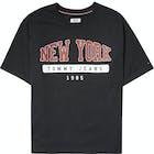 Tommy Jeans New York Logo Women's Short Sleeve T-Shirt