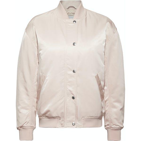 Veste Femme CK Jeans Snap Button Nylon Bomber