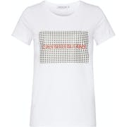 Camiseta de manga corta Mujer CK Jeans Gingham Institutional Logo