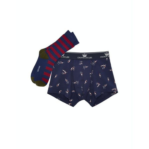 Shorts boxer Hombre Joules Put A Sock In It Pack