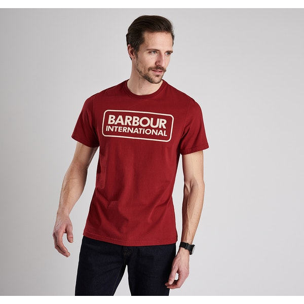 Barbour International Essential Logo Kurzarm-T-Shirt