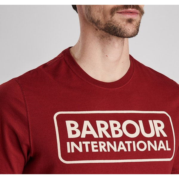 Barbour International Essential Logo Kortermet t-skjorte