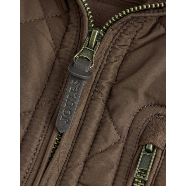 Joules Mens Halesworth Fleece Lined Quilted Gilet