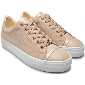 Scarpe Donna Nubikk Jolie Joe Low Top Sneakers - Nude Suede
