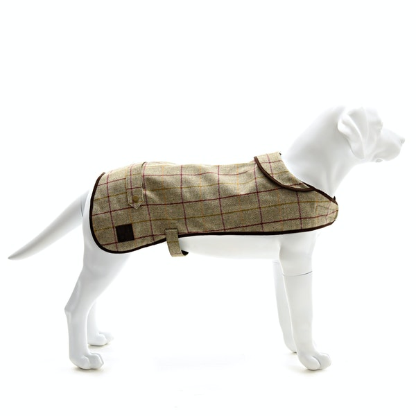 Country Attire Tweed Dog Jacket