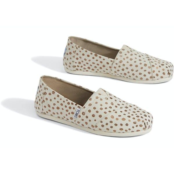 Toms Alpargata Dots Women's Slip On Shoes