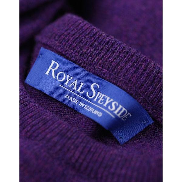 Royal Speyside Lambswool Slim Fit Crew Neck Men's Sweater