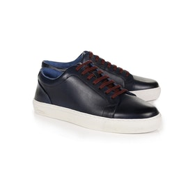 Oliver Sweeney London Hayle Leather Men's Shoes - Navy