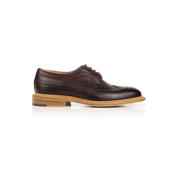 Trickers Made In England Long Wing Brogues Dress Shoes