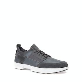 Buty Męskie Geox Traccia Leather - Dark Grey