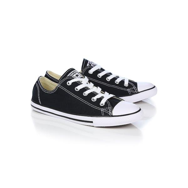 204dcbd299a54 Converse Chuck Taylor All Stars Dainty Ox Women's Shoes - Black ...
