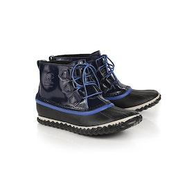 Sorel Out N About Rain Damen Stiefel - Collegiate Navy