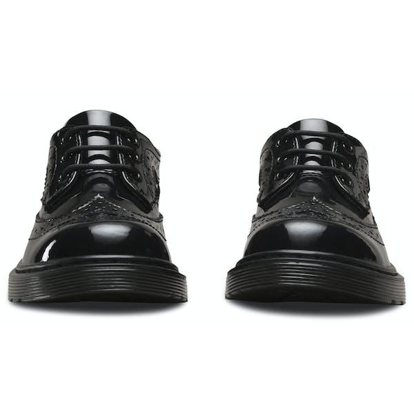 Dr Martens 3989 Patent Brogue 3 Eye Dress Shoes