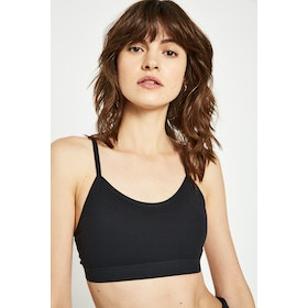 Jack Wills Wyndham Yoga Women's Bra - Black