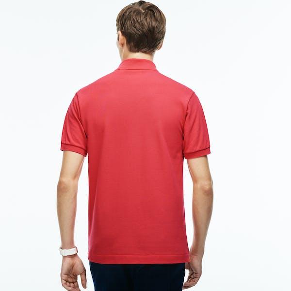 e40332f9 Lacoste L1212 Basic Pique Men's Polo Shirt - Sirop Pink | Country Attire