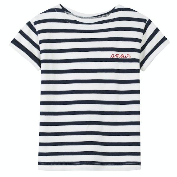 Maison Labiche Sailor Amour Short Sleeve T-Shirt