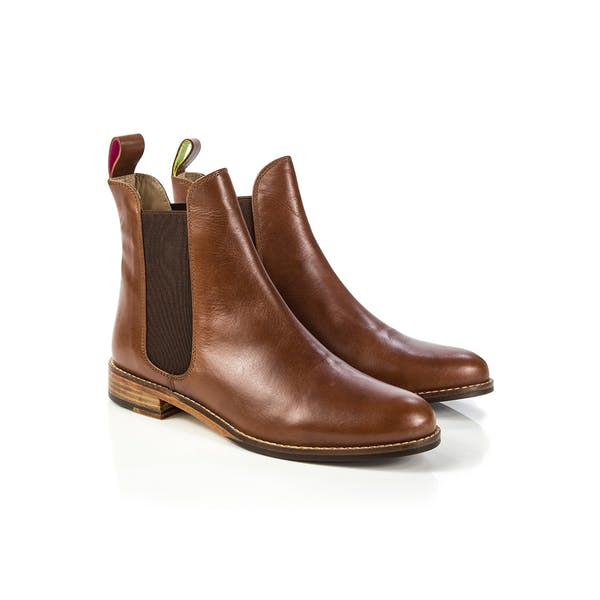 Joules Westbourne Leather Chelsea Women's Boots