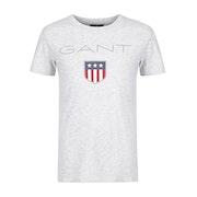 Gant Shield Logo Kurzarm-T-Shirt