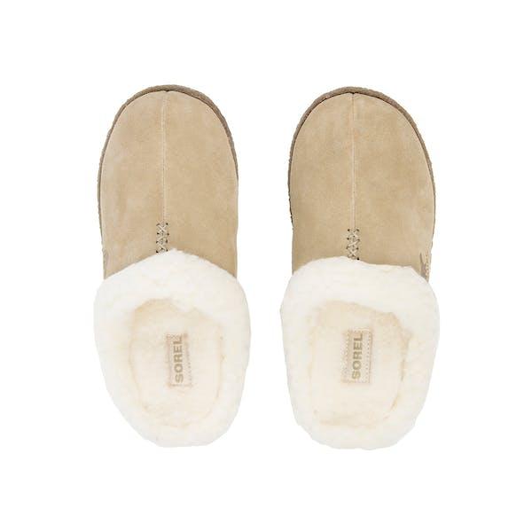 Sorel Nakiska Slide Faux Fur Damen Pantoffeln