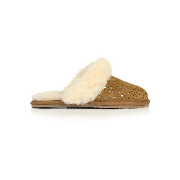 UGG Finn SunShine Perforated Girl's Slippers