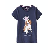Joules Astra Shine Graphic Girl's Short Sleeve T-Shirt