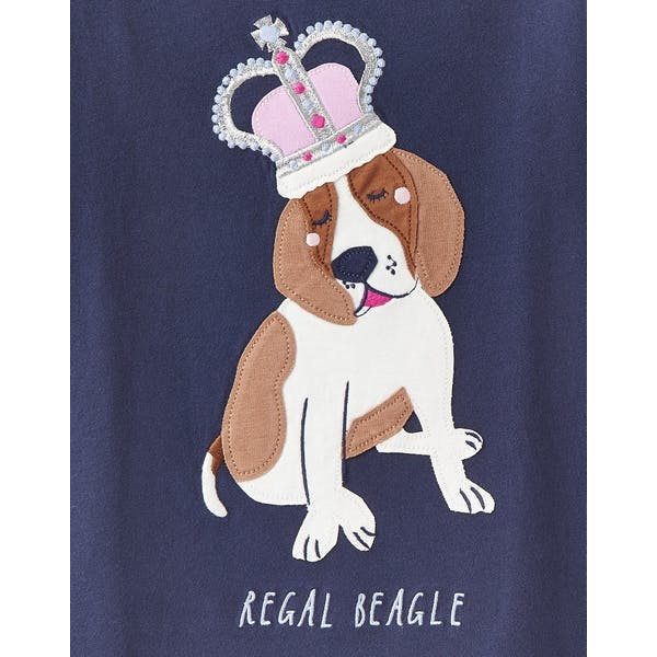 Joules Astra Shine Graphic Kurzarm-T-Shirt