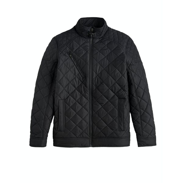 Joules Myers Short Biker Style Quilted Women's Jacket