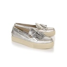 GH Bass Weejuns Cup Esther Metal Tassel Loafers Damen Schlüpfschuhe