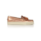 GH Bass Weejuns Cup Esther Metal Tassel Loafers Women's Slip On Trainers