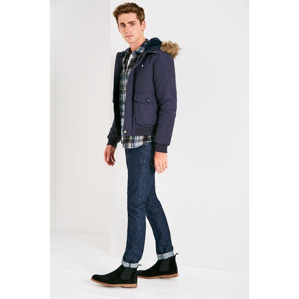 Blusões de Inverno Homen Jack Wills Pateley Down Bomber