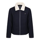 Farah Otley Woolwith Removable Shearling Collar Men's Jacket