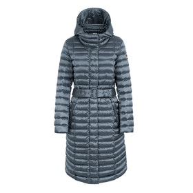 Colmar Odissey Long Down with Removable Hood Damen Jacke - Titanium