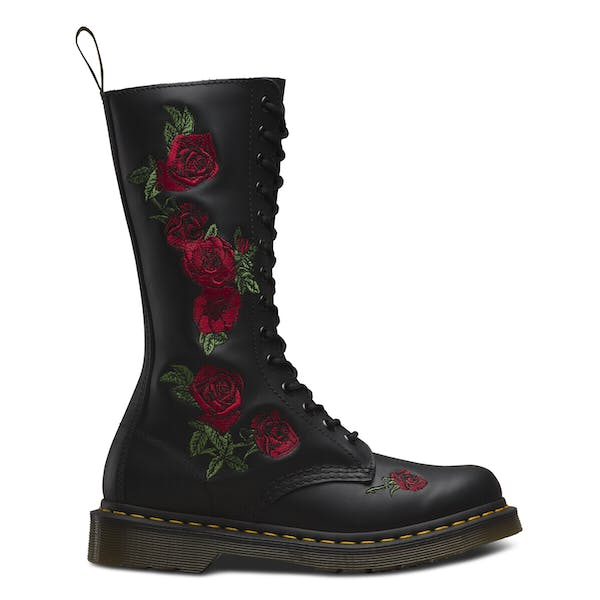 Dr Martens Vonda Embroidered 14 Eye Women's Boots