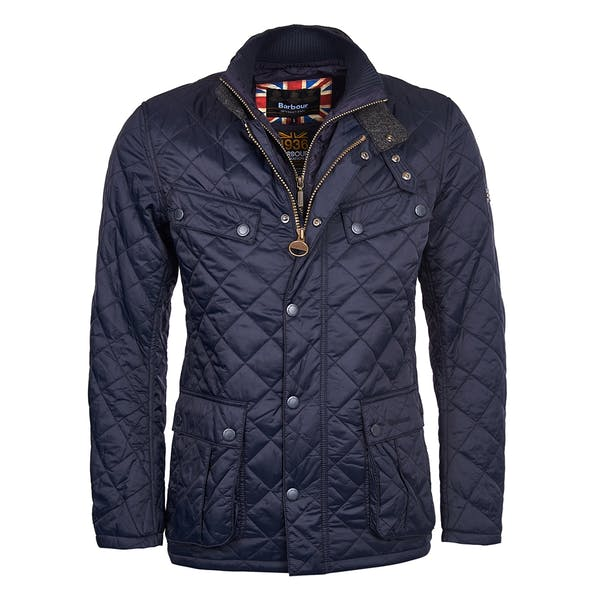 Barbour International Windshield Tailored Fit Quilted Men