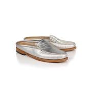 GH Bass Weejuns Penny Wheel Slide Mule Loafers Women's Slip On Shoes