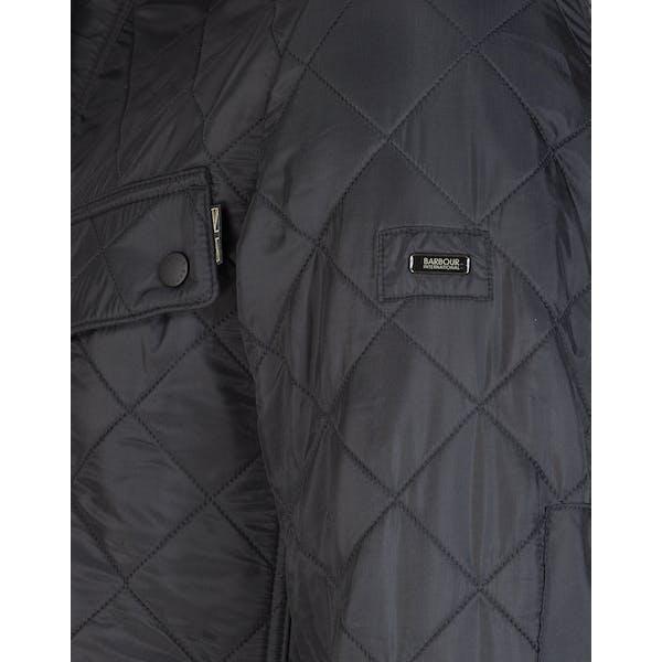 best sell best value elegant and graceful Barbour International Ariel Polarquilt Men's Jacket - Black ...