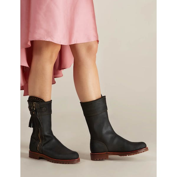 Penelope Chilvers Midcalf Tassel Women's Boots