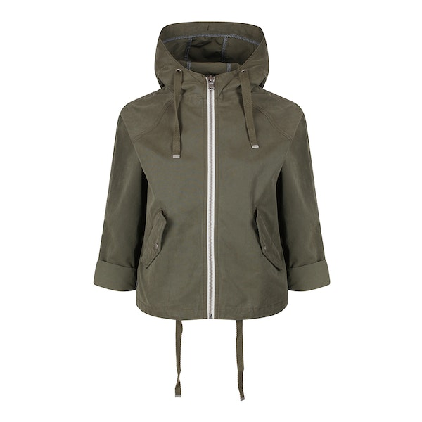 Parka London Issy Cropped Spring Dames Jas