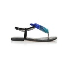 Sam Edelman Gates Fringed Thong Damen Sandalen
