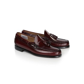 Dress Shoes GH Bass WEEJUN Larkin Moc Tassel - Wine Leather