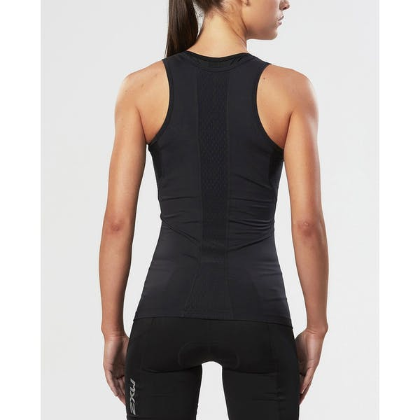 2XU Base Compression Tank Dame Sport top