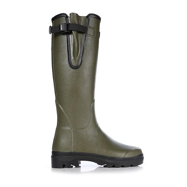 Stivali di Gomma Donna Le Chameau Vierzon Jersey Lined