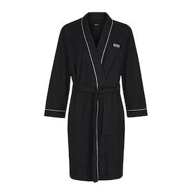 Dressing Gown BOSS Kimono - Black